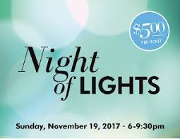 Hillside Night of Lights fundraiser- 100% goes to your account