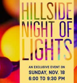 Hillside Night of Lights- Winter
