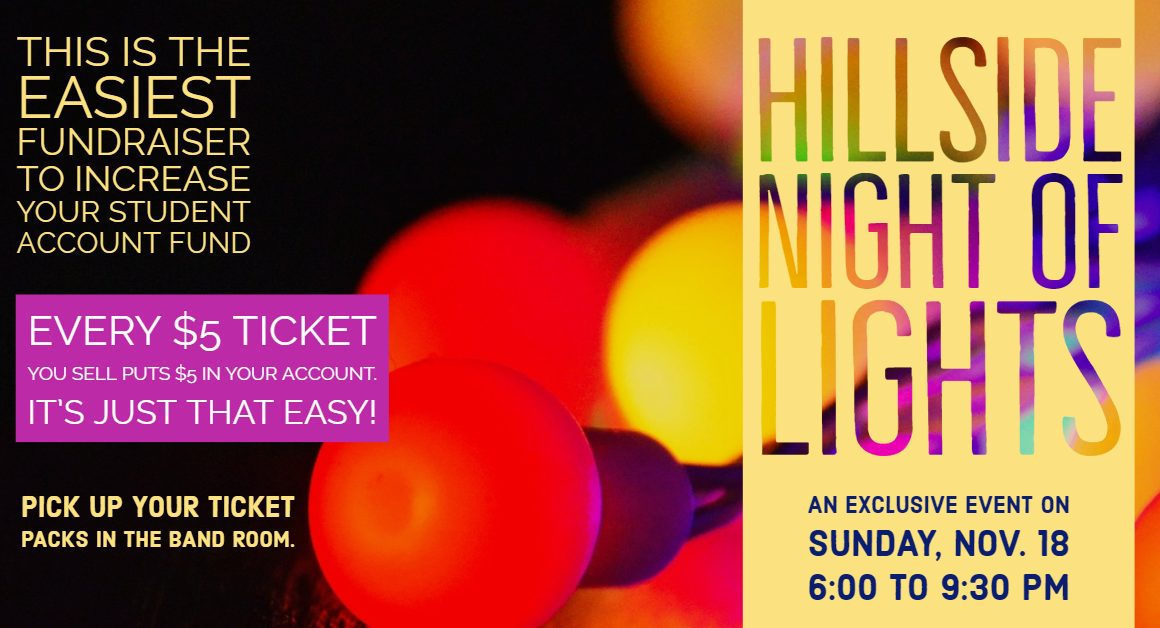 Hillside Night of Lights Fundraiser