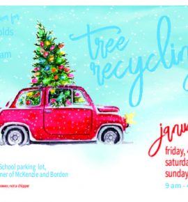 Sign Up for the Tree Recycling Fundraiser