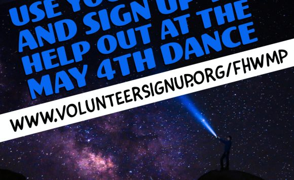 Bring your FORCE and help at the May the 4th Dance